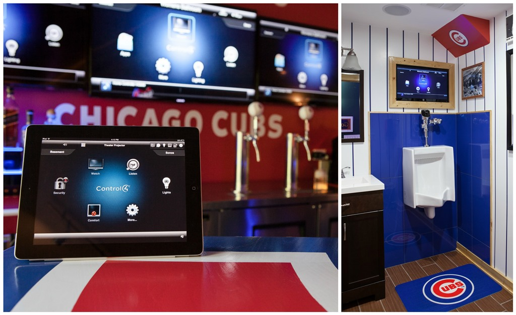 Out Of This League: An Incredible Cubs Man Cave: